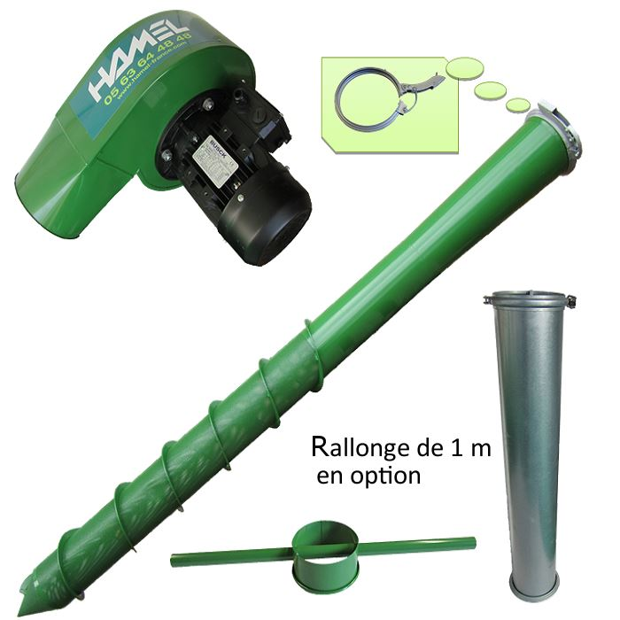 Aerateur a grains hamel
