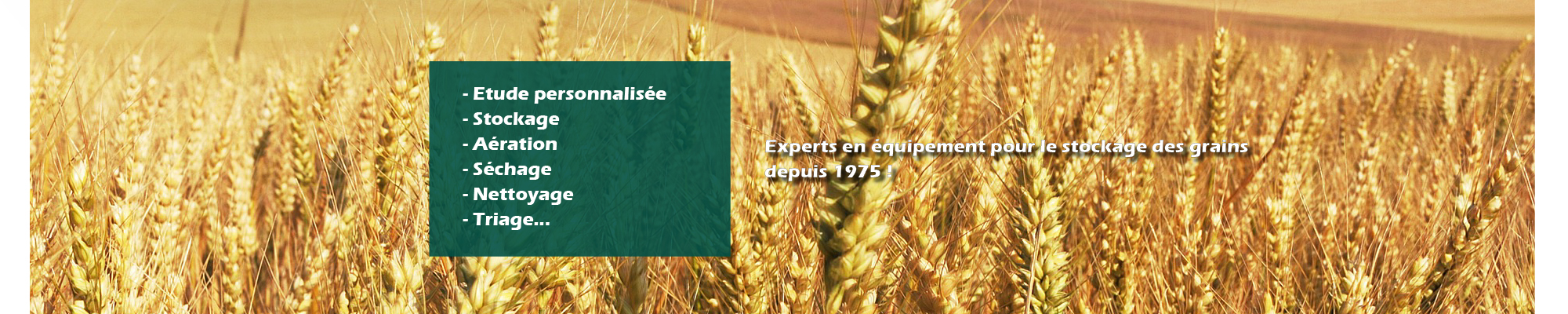 HAMEL specialiste equipement stockage aeration sehage nettoyage grain cereales