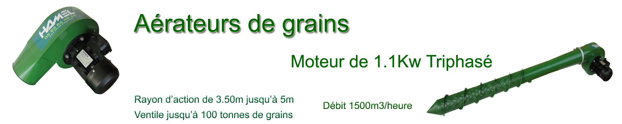 aerateur à grains