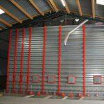 silo rectangulaire pour le stockage du grain