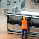 trieur nettoyeur rotatif hamel zanin en usine